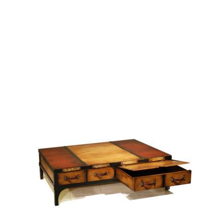 Table Basse réf 840 Merisier Doré (ouverte)